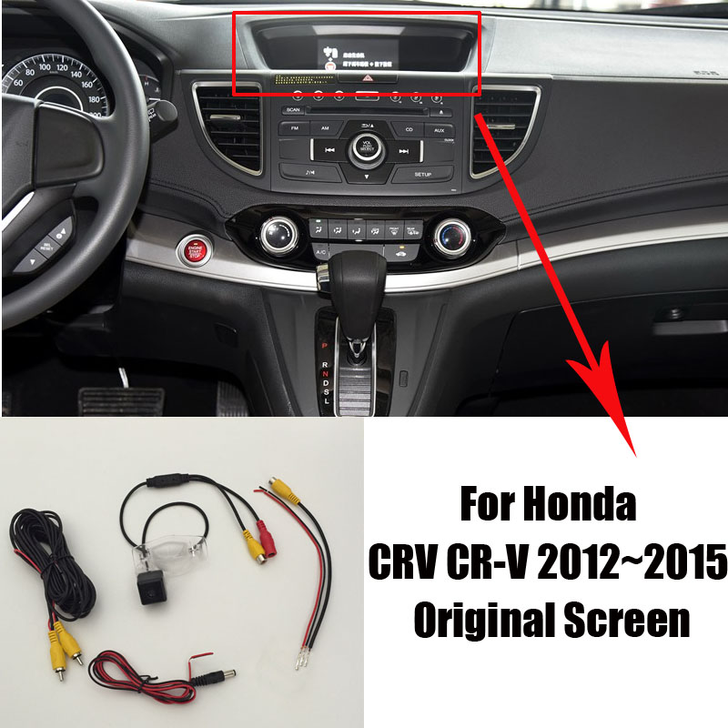 car reverse rear view backup reverse camera sets  honda crv cr   night vision