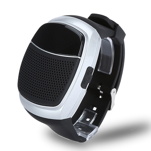 B90 tempo de música estilo do relógio speaker handsfree chamadas durante a condução esporte mini sem fio bluetooth speaker presentes para amigos # et871
