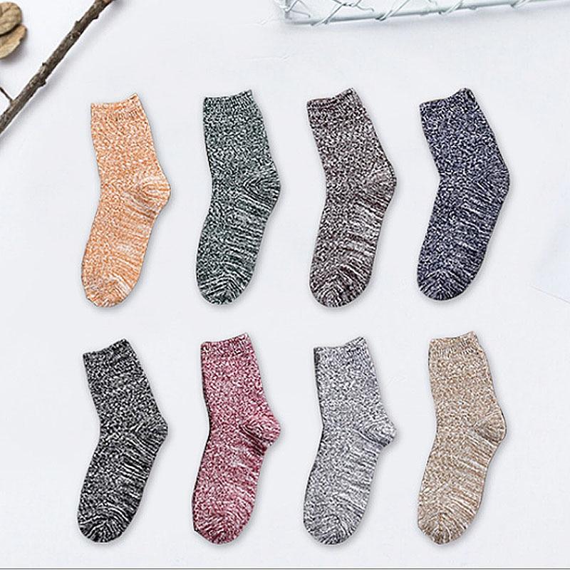 LNRRABC Harajuku Spring Autumn Jacquard Men's   Socks   1Pair Middle Length Casual   Socks   Women Cotton   Socks   Chaussette Meias