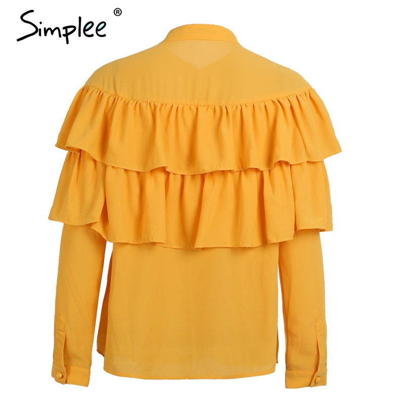 Hot Sale Chiffon Shirt Tops