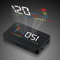 Universal Car Speed Projetor On The Windshield Projection HUD Auto OBD2 Head Up Display Heads Up Display Digital Car Speedometer