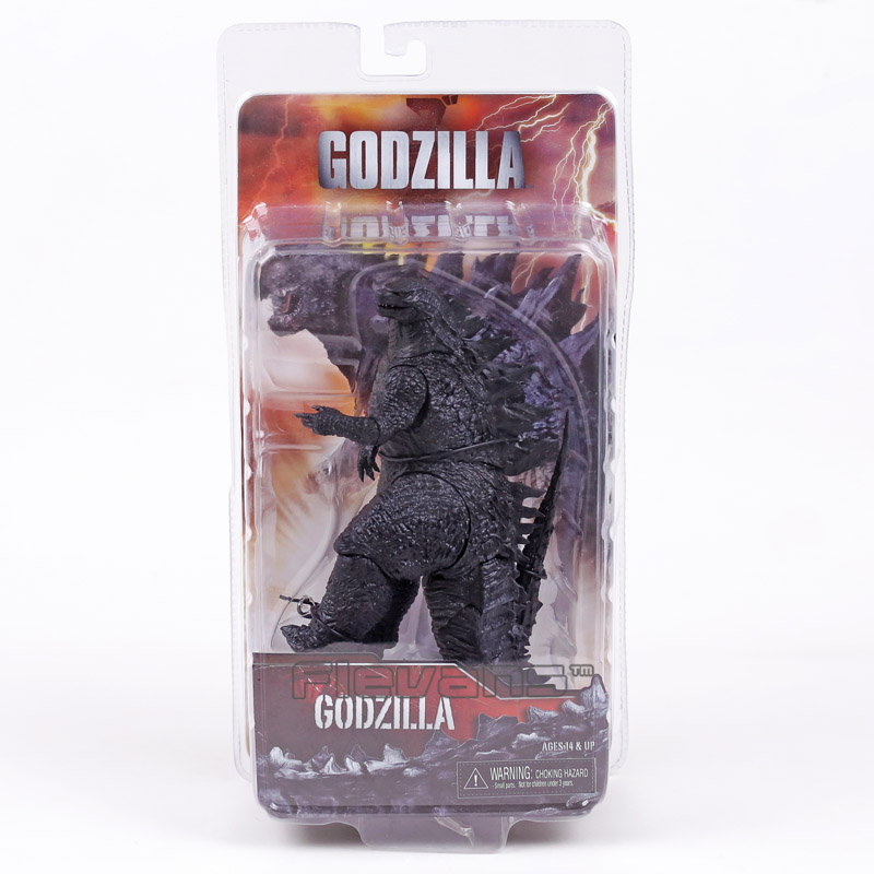NECA Godzilla Movie 2014 PVC Action Figure Collectible Model Toy 16cm neca the texas chainsaw massacre pvc action figure collectible model toy 18cm 7 kt3703
