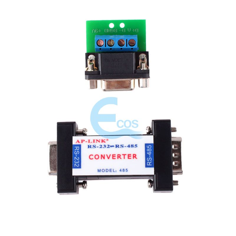 RS232 to RS485 Passive Interface Converter Adapter Data Communication Serial#61516 rs485 converter rs232 rs485 rs485 converter passive monitoring accessories