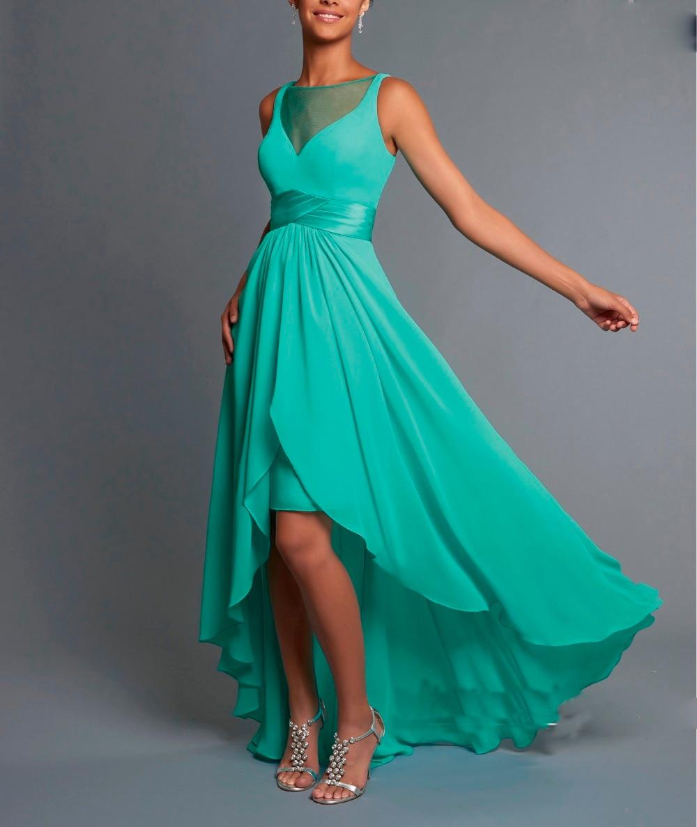 Beautiful New Years Eve Petite Hi Lo Evening Dress For Women Formal ...
