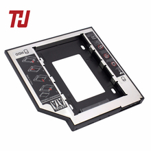 THU 9.5mm SATA3 Interface 2.5'' Hard Drive Bracket SSD Adapter Optibay HDD Caddy DVD CD-ROM Enclosure Adapter Case for Laptop PC