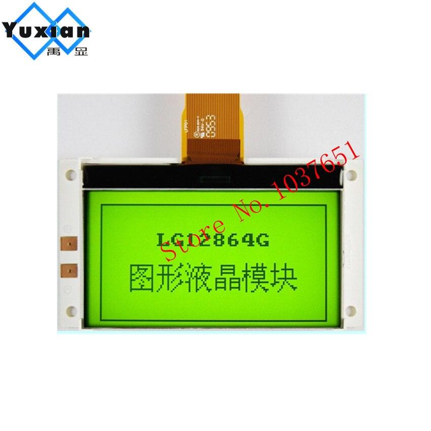 COG 12864 128x64 Graphic lcd display module control IC SPLC501C STN GREEN led backlight laurel LG12864GCOG 12864 128x64 Graphic lcd display module control IC SPLC501C STN GREEN led backlight laurel LG12864G