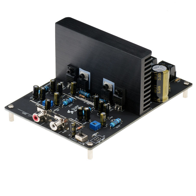 2x250w double channel D class digital power amplifier board, IRS2092 high-power finished product board 061.