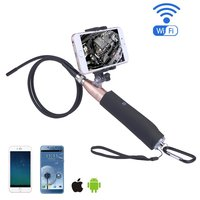 Handheld 1m Hard Tube Android Endoscope 5 5m Lens 6LED Waterproof Hard Wire Endoscope Camera Inspection