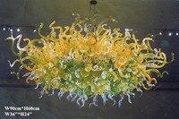 Бесплатная доставка Модные узоры ручной работы стеклянные Необычные потолочные люстры