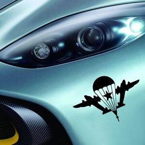 Image 4 - SLIVERYSEA автомобильные наклейки индивидуальные украшения для автомобиля, армия, веер, военный, русский, воздушная, Виниловая наклейка для автомобиля