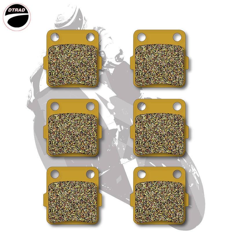 Motorcycle Brake Pads Front+Rear For YAMAHA  RAPTOR YFM 350 R 2004-2013 RAPTOR YFM 660 R 2001-2005
