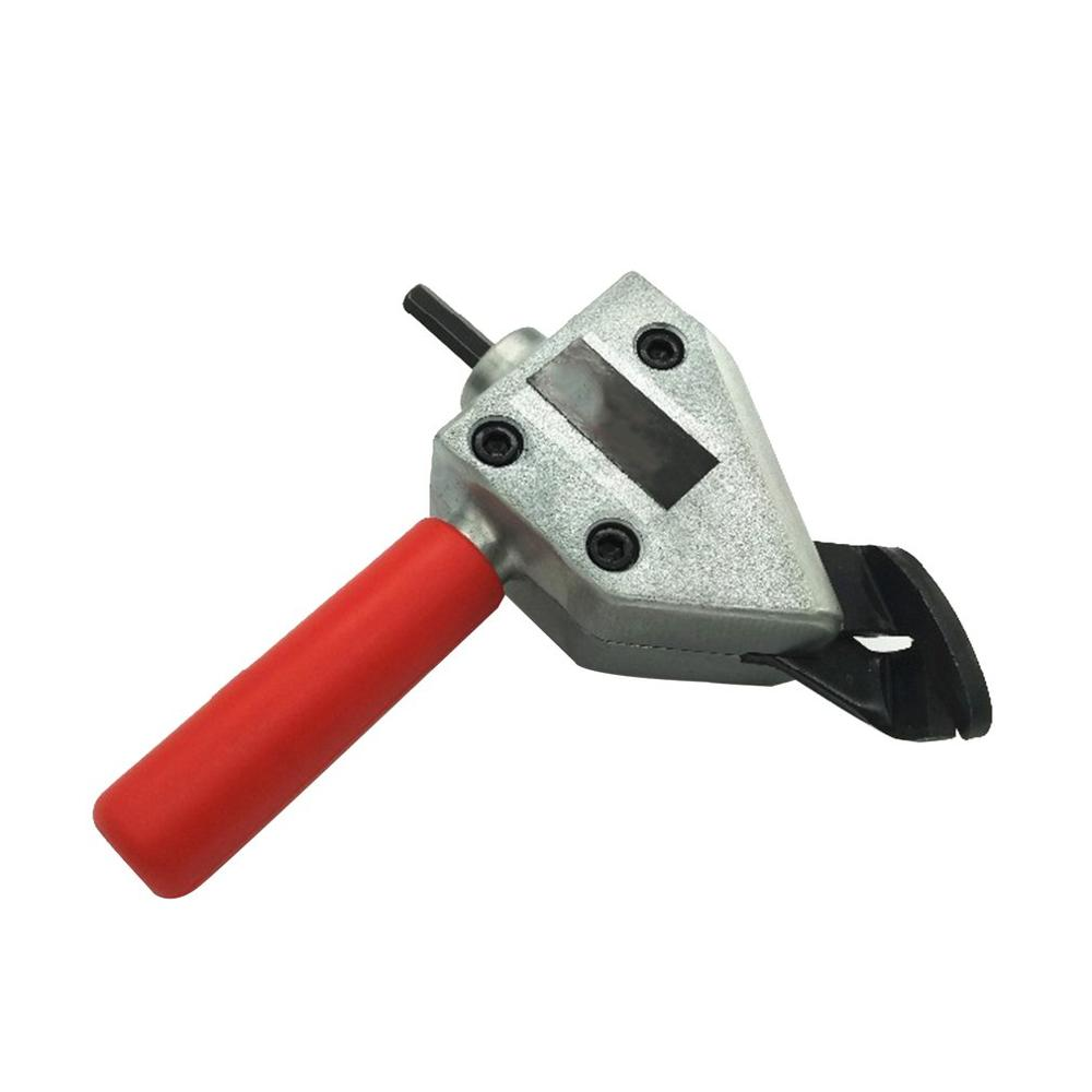 Nibble Metal Cutting Sheet Nibbler Saw Cutter Tool Metal Plate Cut Power Tool Drill Attachment Cutting Tool Accessories