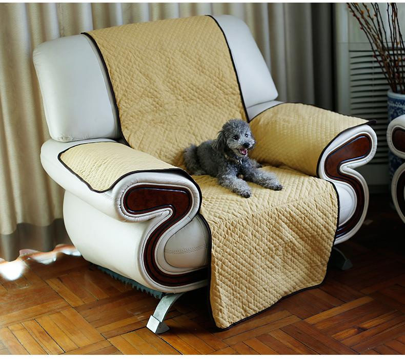 177*155cm Pet Sofa Cloth Cover Isolation Mat Sofa Non-sticky Single Dog Cover Chair Covering Cloth Puppy Pet Dogs Cats Cleaning