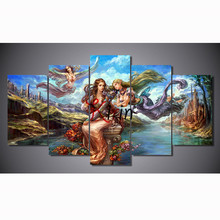 5pcs diamond embroidery Anime Angel Girl 5d painting full mosaic pictures of rhinestones cross