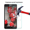 """Best quality Anti-shatter screen protector film For LG Optimus L9 II D605 4.7"""" Explosion-proof Nano soft film Not Tempered Glass"""