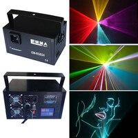 30 k światła Sceniczne full color animacja światła laserowego DJ światła laserowego KTV bar oświetlenie sceniczne automatyczne ekran dotykowy EM-RGB243