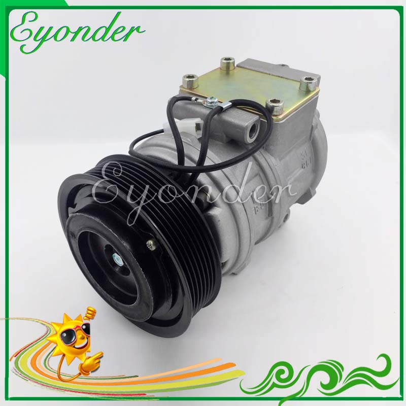 A/C AC Air Conditioning Compressor Cooling Pump PV7 for Land Rover DEFENDER Cabrio Station Wagon Pickup LD 2.5 Td5 4471705060