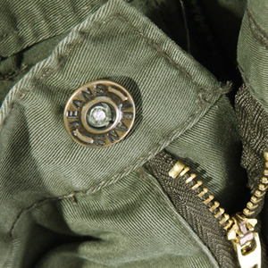 Image 3 - 2019 nowe męskie spodnie bojówki zieleń wojskowa duże kieszenie dekoracje męskie spodnie typu casual łatwe pranie męskie jesienne spodnie wojskowe plus rozmiar 42