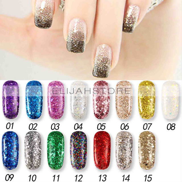 Professional Beauty Nail Products Nail Polish Kce Sequin Barbie Nail