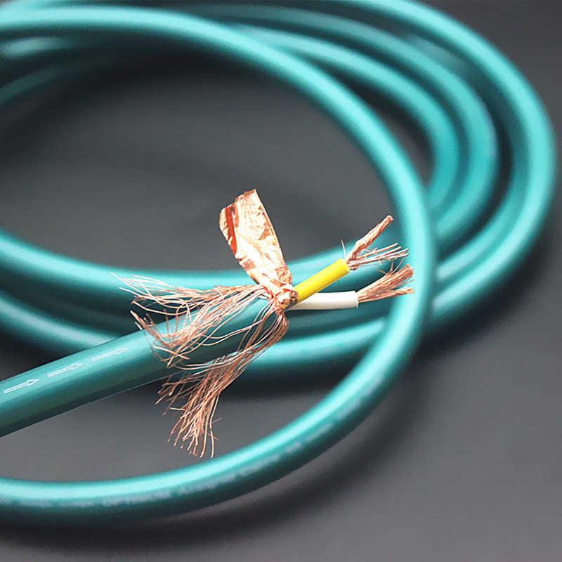Ortofon 8N Медь Соединительный аудио-кабель Массовая аудио RCA XLR кабель для Hi-Fi линии провода аудио кабель