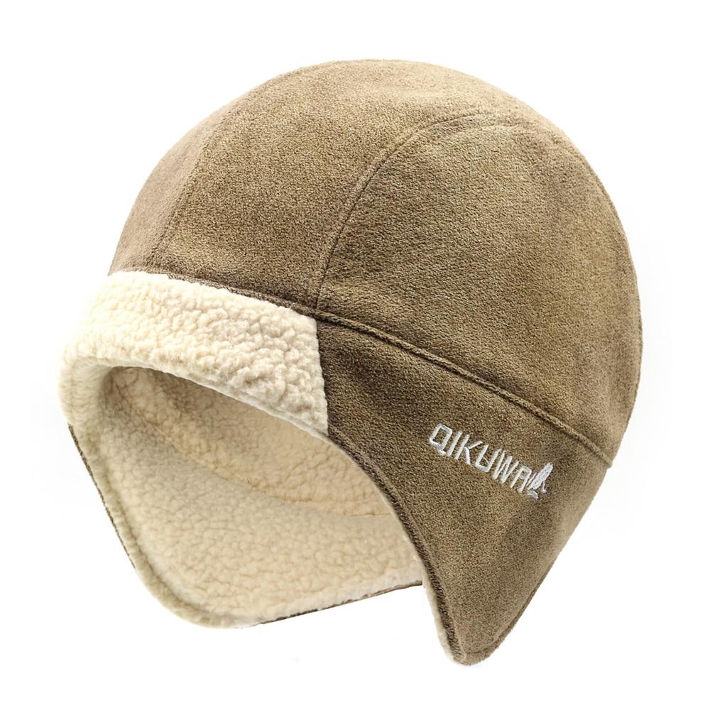 Aliexpress.com  Comprar Sombrero de bombardero para hombre mejor piloto  soldado aviador gorra de Cachemira de imitación sombrero ruso Ushanka  invierno ... 03bcc6ff770