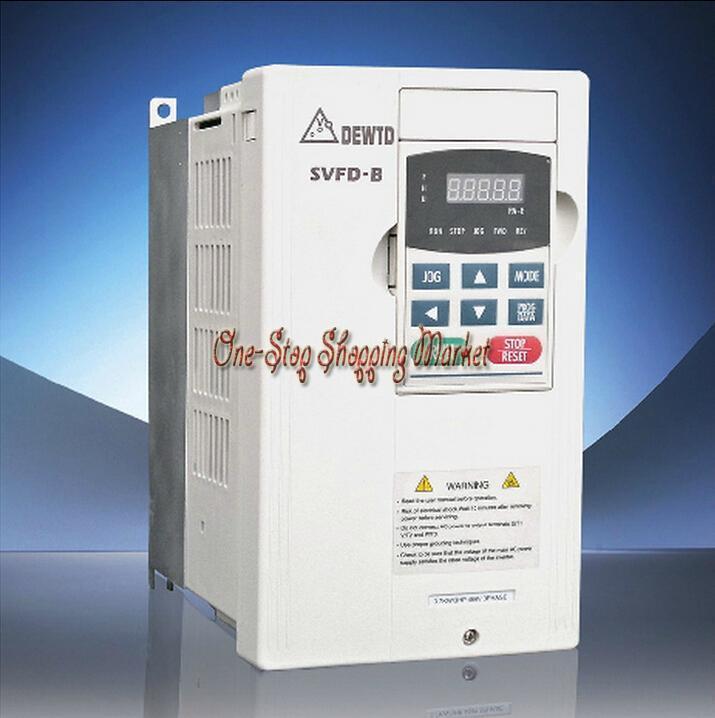 New Original Converter VFD007B23A B Series Inverter 3Phase 220V 0.75KW 1HP 0.1~400Hz