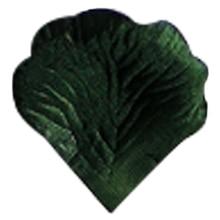 Practical Boutique 4000 Silk Rose Artificial Petals Supplies Wedding Decorations dark Green