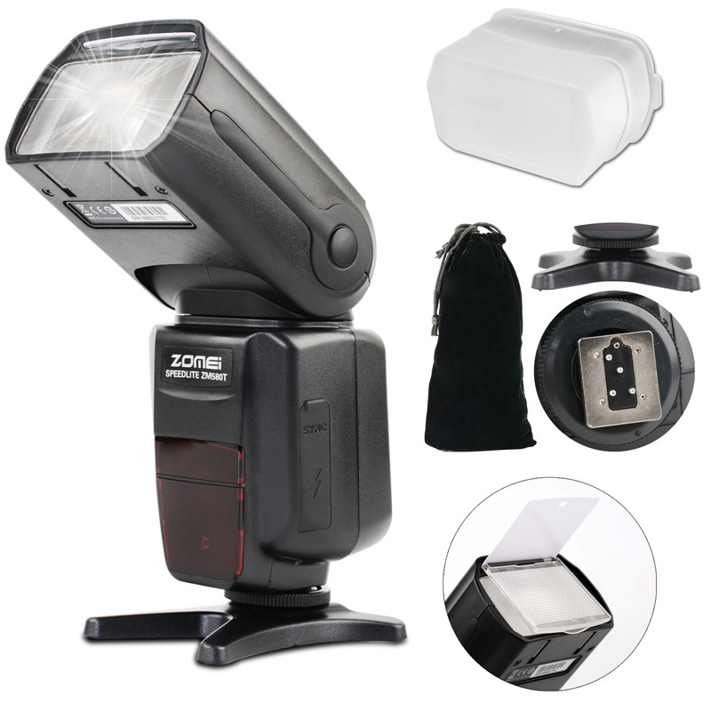 все цены на New ZM580T TTL High Sync Speed Flash Speedlite Speedligt Flash For Nikon DF D5500 D3200 D5200 D5300 D7000 D7100 D610 D750 D90 онлайн
