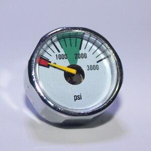 Image 4 - Paintball, manomètre à Air comprimé PCP, avec Mini manomètre, 350 bars, 300psi, 1500psi, 3000psi, 5000psi, 6000psi, 1/8npt, nouveauté