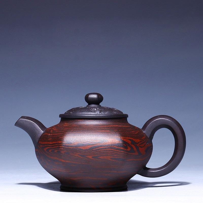 270 ML célèbre Art fait à la main Zi Sha théière Yixing authentique violet argile céramique Kung Fu théière hôtel thé noir bouilloire théière cadeau
