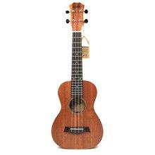 21 inch Soprano Uke 4 Strings ukulele mahogany guita acoustic small guitar solid body uke Concert ukelele Free Shipping