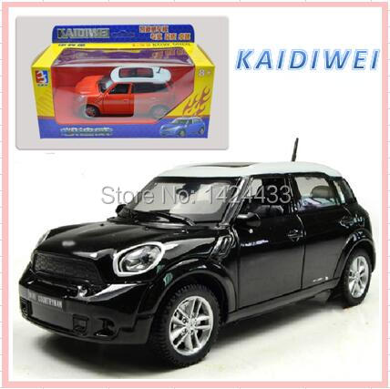 2017 kaidiwei 132 mini coutryman diecast alloy metal mini car model pull back machine