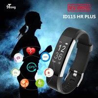 ID115 HR Plus Smart Bracelet Sport Mode Fitness Tracker Wrist Smartband Heart Rate Monitor GPS Route