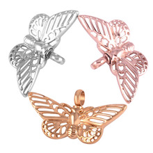 Lace Butterfly Memorial Pendant