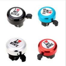 """New Safety Bicycle Bell Ringer with """"I Love My Bike"""" Printed"""