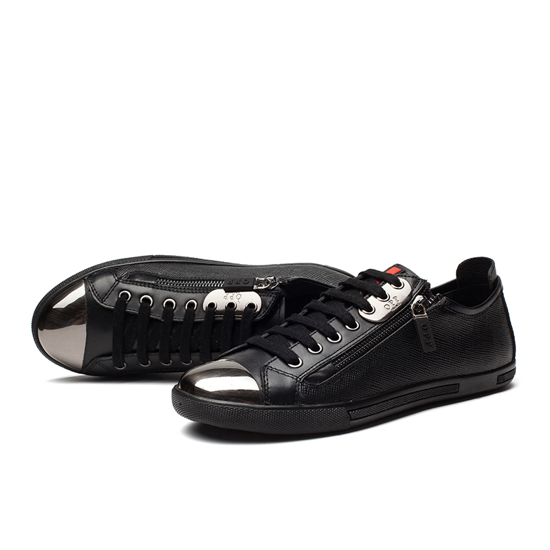 Mode homme respirant Mocassins dentelle Casual Up Flats 46ZTLY