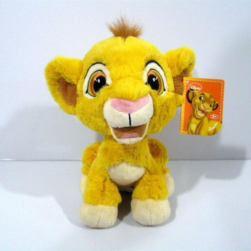 Sitting 23cm=9inch Original Cartoon Simba The Lion King plush soft toys,Simba Plush toy for baby gift