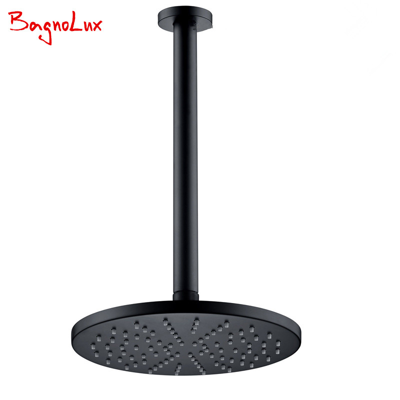 Bagnolux Wholesale Factory Direct High Quality Round Classic Style Rainfall Shower Head With Ceiling Mounted G1/2 Shower Arm