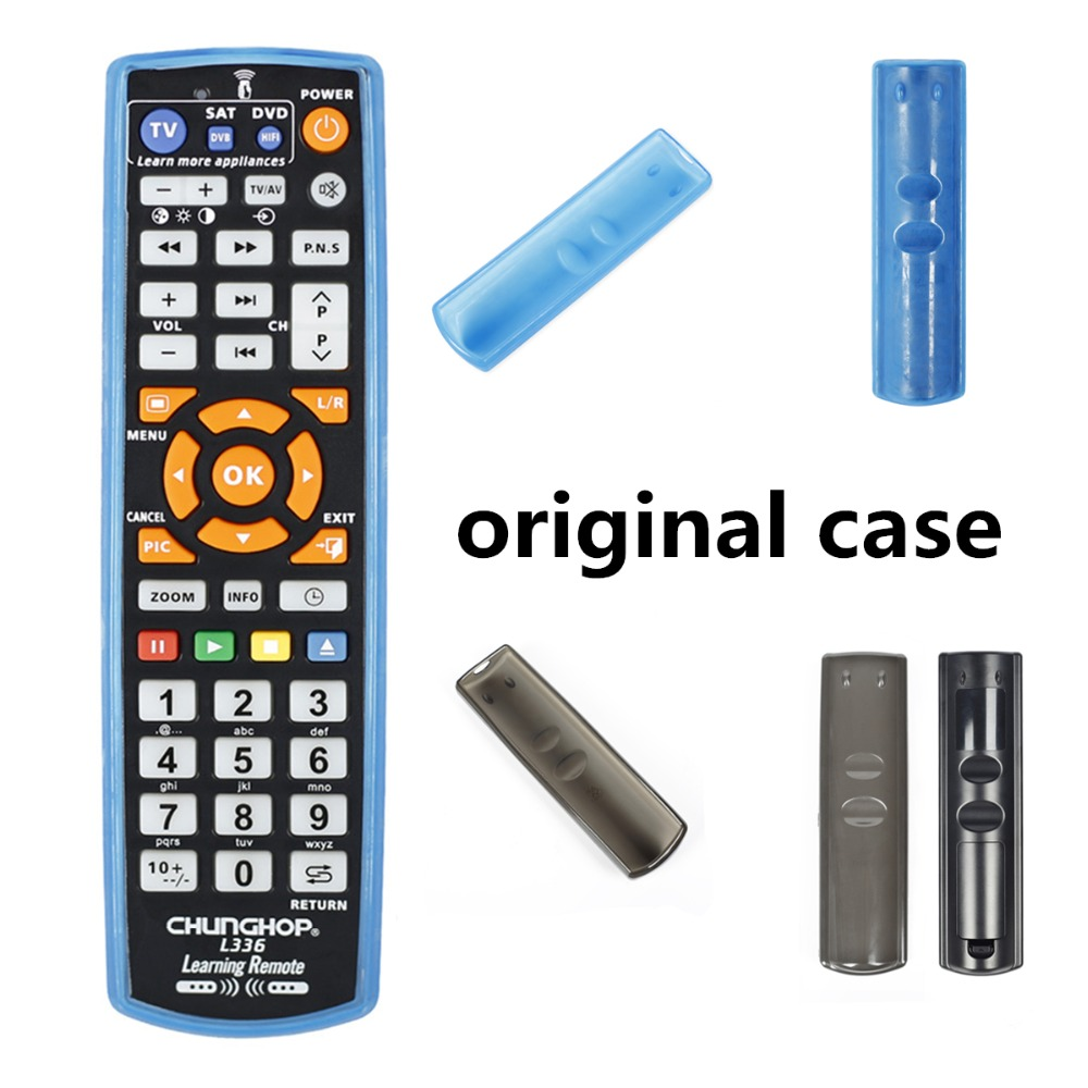 US $2 49 |Original chunghop L336 copy Smart Remote Control Controller With  Learn Function For TV CBL DVD SAT learning CASE-in Remote Controls from