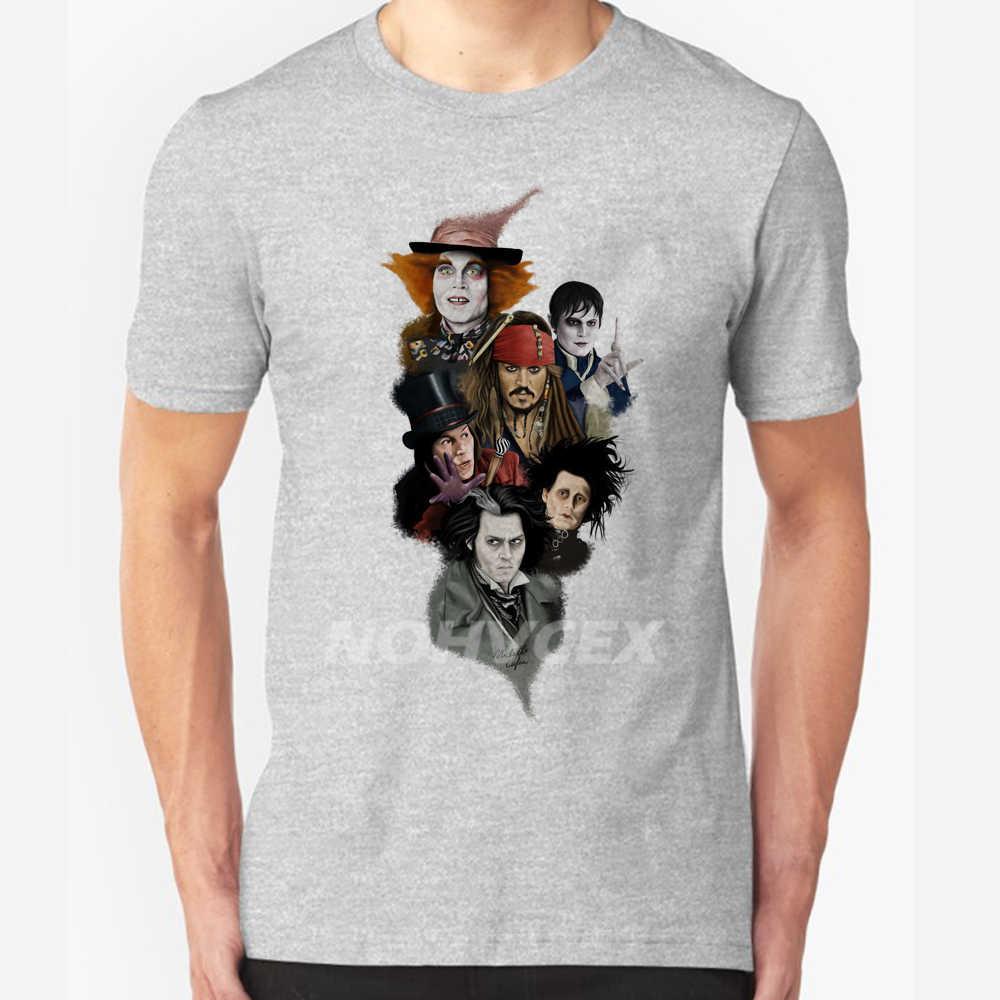 de9b49da3 ... Johnny Depp, Sweeney Todd, Edward Scissorhands, Willy Wonka, Jack  Sparrow, Barnabas