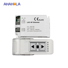 3 key wireless remote control triac rf led dimmer controller for single color led lamps 110v-220v output 1 channel 200w