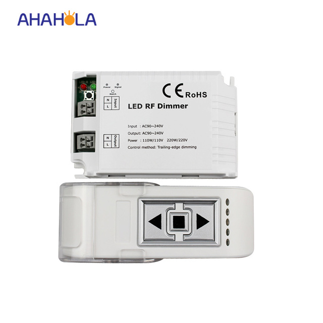 3 key wireless remote control triac rf led dimmer controller for single color led l&s 110v  sc 1 st  AliExpress.com & 3 key wireless remote control triac rf led dimmer controller for ... azcodes.com