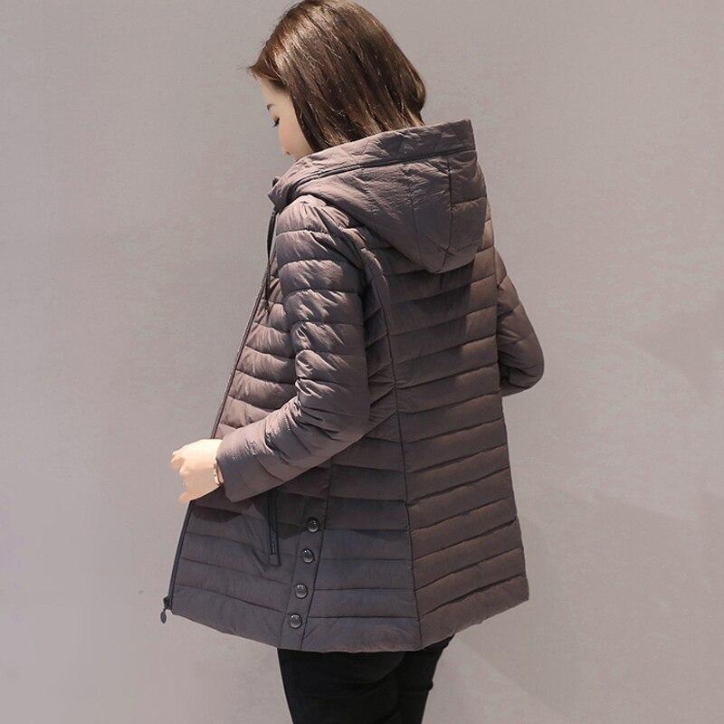 Big size 4XL 5XL hooded women winter jacket outerwear cotton padded casacos de inverno feminino ladies coat slim parka