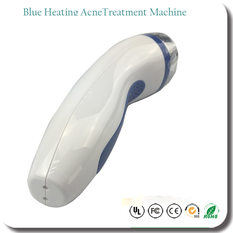 Home Use Beauty Rechargeable Spa Blue Heating Led Light Photon Anti ...