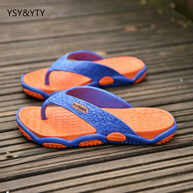 55399f7e2caa 2019 new summer tide shoes slippers men s cool sandals feet tide male non- slip beach shoes wear personalized personality dr