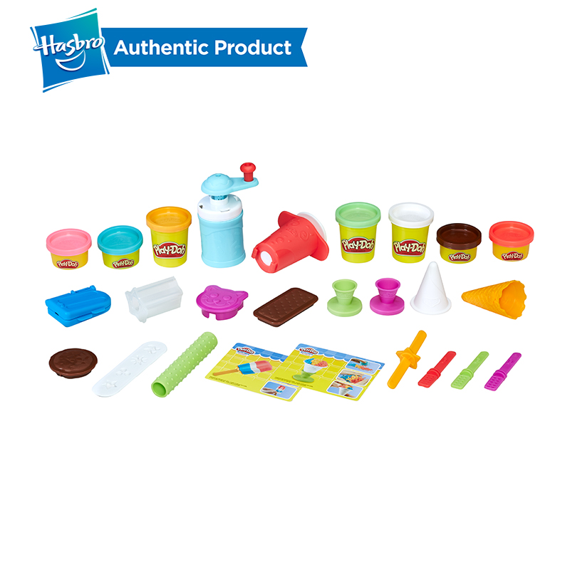 Hasbro Play Doh Kitchen Creations Frozen Treats Toy Ice Cream Maker Fun Factory Arts And Crafts Play Doh Case Of Colors in Modeling Clay from Toys Hobbies