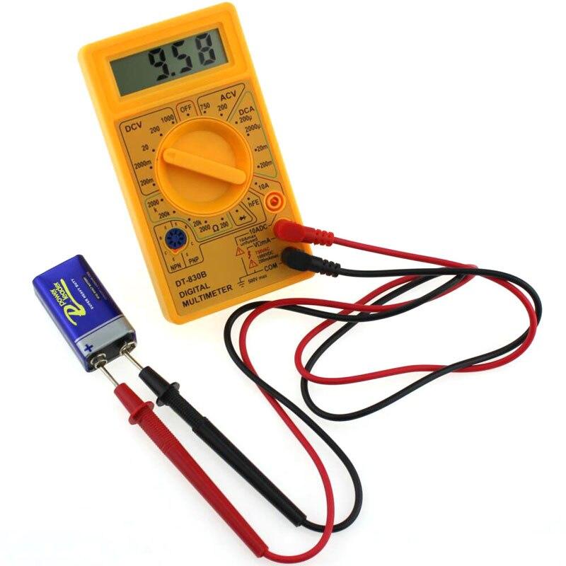 DT830B Digital Multimeter LCD Mini Universal Meter Handheld Electrician