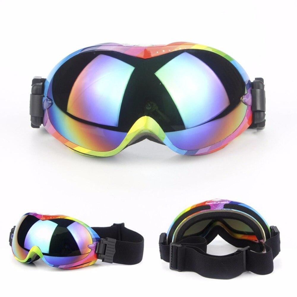 Лыжные очки двухслойные UV400 Защитные очки Анти-туман большой Лыжная маска очки на лыжах мужские и женские зимние сноуборд,