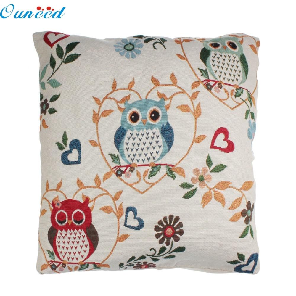 ᐂOuneed feliz hogar almohada funda de almohada personalizadas Retro ...