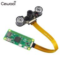CEWAAL Fisheyes Wide Angle Night Vision Camera Cam Vedio For Raspberry Pi Zero Infrared 2pcs Infrared